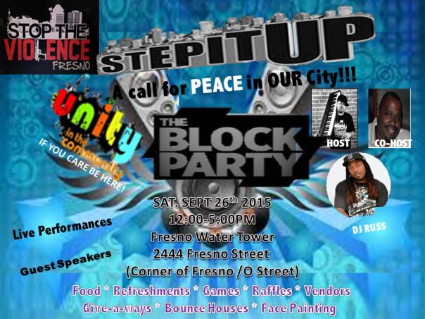 Blk party Sept 2015
